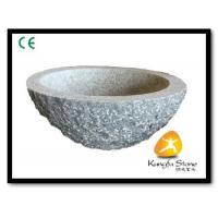 Quality Xiamen Kungfu Stone Ltd supply Rough Surface Granite Sink For Indoor Kitchen,Bathroom wholesale