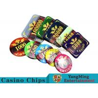 China Texas Poker Plastic 760 Pcs Chip Set France Acrylic Casino Dedicated Chips wholesale