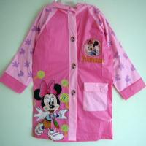 China Children PVC Raincoat Mickey Mouse Printing Eco-friendly wholesale