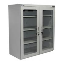 Quality Energy Saving 1436L Moisture Proof N2 Nitrogen Dry Box Lab gas Cabinet with 4 Windows for sale
