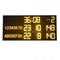 China Light And Portable AFL Electronic Scoreboard With Aluminum Alloy Frame wholesale
