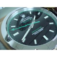 China Sell Super mute designer Wall Clock SUB water ghost luminous whole stainless steel metal wholesale