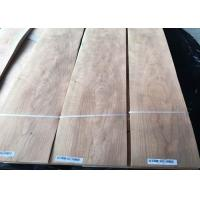 Buy cheap Eco Friendly Durable Cherry Crwon Cut Veneer Sheet With 0.5mm Thickness from wholesalers
