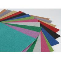 China Handcraft Works Glitter Paper Craft Paperboard With Glitter For Paper Greeting Card on sale