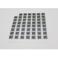 China Anti - Counterfeiting Laser Sticker Paper Heat Sensitive With Gradient Effect wholesale