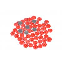 China Lead Free Loose Hotfix Rhinestones Glass Material 12 / 14 Facets With Multi Colors wholesale