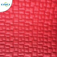 Synthetic Leather Material  Embroidered Shoe leather