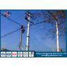 China Anti - Rust Tubular Electric Steel Pole For Transmission Line Pole wholesale