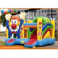 Buy cheap Kid Game Clown Inflatable Bouncer Bounce Castle Jumping Castle For Kids from wholesalers