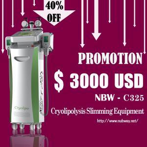 cryolipolysis machine/Cryolipolysis slimming machine with optional lipo laser pads