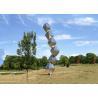 China Abstract Steel Sculpture / Stainless Steel Art Sculptures Garden Landscape Design Cubes wholesale