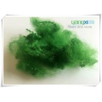 100% Polyester Staple Fiber / Green Recycled Polyester Fiber For Spinning