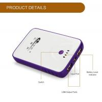 China Input 1A Li-Polymer Battery USB Portable Power Bank For Mobile Devices / Panel Computer wholesale