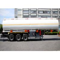 China Liquefied Gas Semi-trailer / Gas Tanker Truck Capacity 36000L / 3 Axles/  Gas / Diesel wholesale