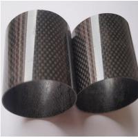 Quality carbon mix glass fiber pipe/tubes for sale