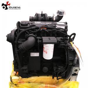 Buy cheap QSB4.5-C130 Cummins Diesel Engine, Euro Ⅲ 130HP , DCEC Mechanical Engineering  Motor from wholesalers