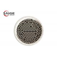 China G100 Aisi 1010 Carbon Steel Sphere , Professional Round Steel Balls Bright Surface wholesale