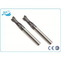 China Diameter 1 - 25 mm High Speed Steel End Mill 55 - 65 HRC TiAlN TiCN TiN Coating wholesale