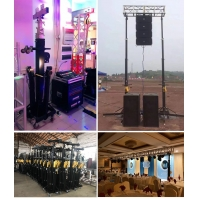 China Mobile 7M Crank Stand Line Array Truss Load Bearing 340Kg wholesale