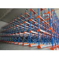 China Semi Automatic Heavy Duty Storage Racks 50 Pallets Deep Shuttle Storage System wholesale