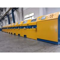 China Vertical Type Straight Line Wire Drawing Machine For Low / Medium Carbon Steel wholesale