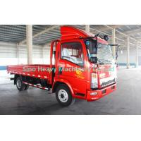 Quality 4x2 Cargo Light Duty Commercial Trucks , Flatbed Truck With 80L Fuel Tank for sale