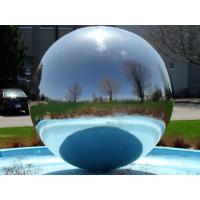 China 1m Sliver Inflatable Mirror Ball Disco For Trade Show , Inflatable Mirror Sphere wholesale