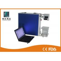 China 650nm Diode Fiber Laser Etching Machine With CE LCD Touch Industrial Printer wholesale