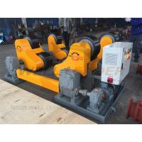 Buy cheap Self Aligned Welding Rotator 40 Ton Turning Capacity PU Rollers Inverter Speed from wholesalers
