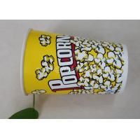 China 85oz Custom Printed Paper Cups , Paper Popcorn Boxes Containers OEM Acceptable wholesale