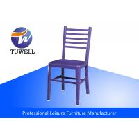 Quality Durable Comfortable Replica Emeco Navy Side Chair With Metal Back for sale