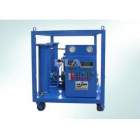 China ZYF Portable Industrial Oil Filtration Systems , Vacuum Oil Filling Machine wholesale