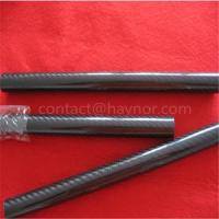Quality 3K Black Carbon Fiber Tube for sale