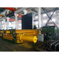 Buy cheap 315 Tons Baling Force Cuboid Block , Cylinder Scrap Metal Pressing machine from wholesalers