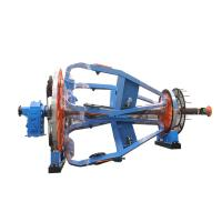 China Electric Wire Cable Stranding Machine Armouring Device With Meter Counter wholesale
