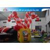 China Giant Colorful Inflatable Christmas Stick / Inflatable Candy Cane Stick / Inflatable Walking Stick wholesale