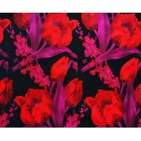 Buy cheap Floral Fabric Jacquard TC Yarn-dyed H/R 21.0cm 470T/74%T/26%C/175gsm from wholesalers