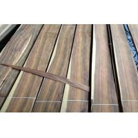 China Santos Rosewood Quarter Cut Veneer With Fine Straight Grain wholesale
