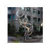 China Fluttering Ribbon Abstract Modern Sculpture Abstract Metal Garden Sculptures wholesale