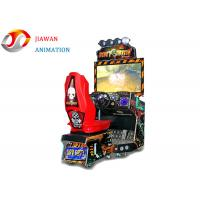 Buy cheap Luxury Dirty Driving Simulator Game Machine 42 Inch Display Arcade Car Racing from wholesalers