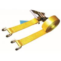 China Open Hook Over The Wheel Tie Down Straps , Commercial Tie Down Straps 2500 DN LC wholesale