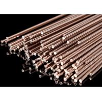 China Phosphorus Copper Brazing Rod Brazing Material 3.2mm Flat Rod 0 % Sliver wholesale