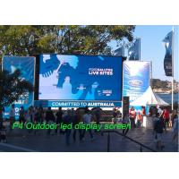 Buy cheap HD Full Color LED Panel Outdoor P4 / SMD 3 in 1Advertising LED Screen with from wholesalers