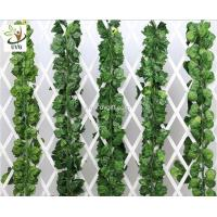 China UVG decorating ideas hanging plastic ivy leaves artificial vines for wedding themes use DHP01 wholesale