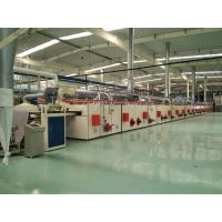 China PVC Carpet Backing Machine / Tile Production Line CNC Cutting For Sizes Desired wholesale