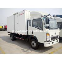Quality Sinotruk Light Duty Ice Box Truck Right Hand Driving Truck With KV 300 Refrigerator wholesale