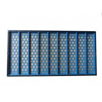 China 1250x635x25mm Brandt Shaker Screens Steel Frame For Solid Control wholesale