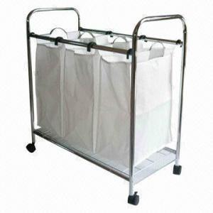 China Canvas laundry hamper, measures 70 x 35 x 70cm wholesale