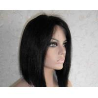 China Professional Lace Front Human Hair Wigs 8 Inch Short Wigs wholesale