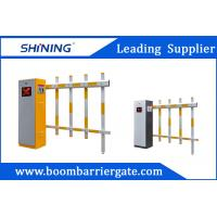 Quality 30m Remote Control Fence Arm Boom Barrier Gate For Toll Booth Management System wholesale